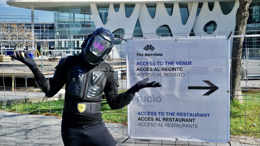 ZARIOT arrived Monday to the Fira in Barcelona for Mobile World Congress only to find it has been cancelled due to the risk of spreading the COVID-19 virus.