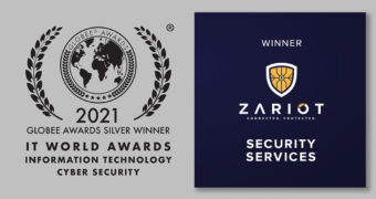 ZARIOT wins Security and Telecommunications IT World Awards
