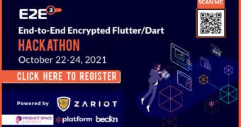 End-to-End Encrypted Flutter/Dart Hackathon 2021 (E2E3@Hack) NOW PART OF CAL HACKS!
